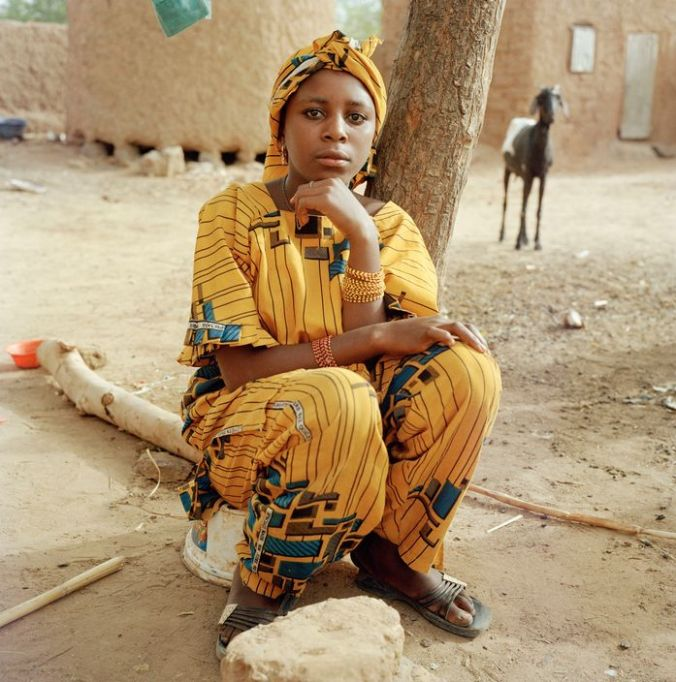 NIGER. Doguerawa. Slave girl of 14 years called Shaoudi. 2005.