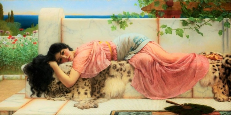 when-the-heart-is-young_godward